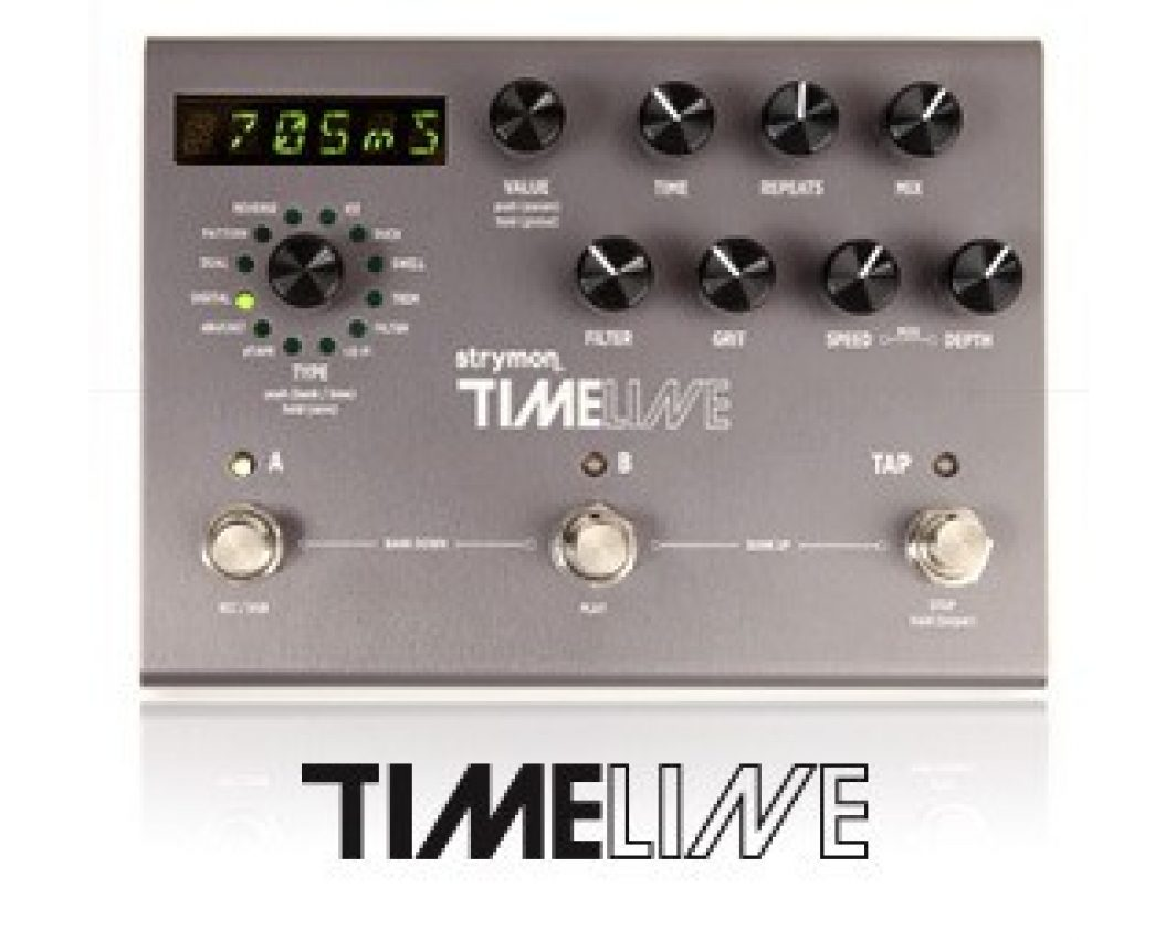 Pedale delay Timeline