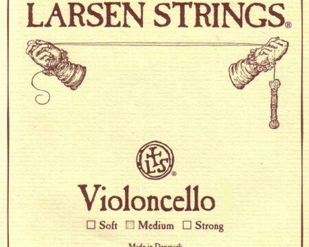 Corda singola RE Larsen media Soloist